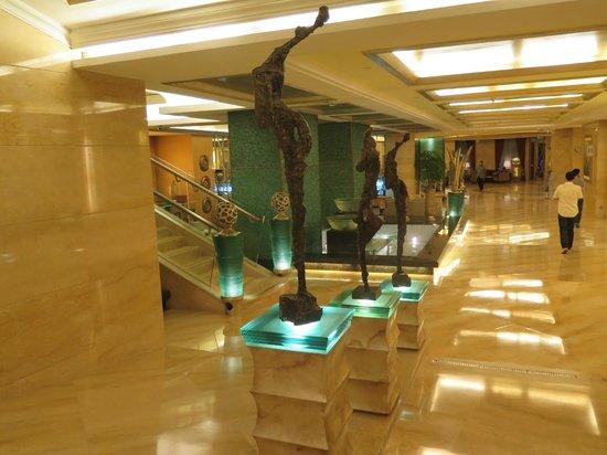 Radisson Blu Hotel Shanghai New World: la hall