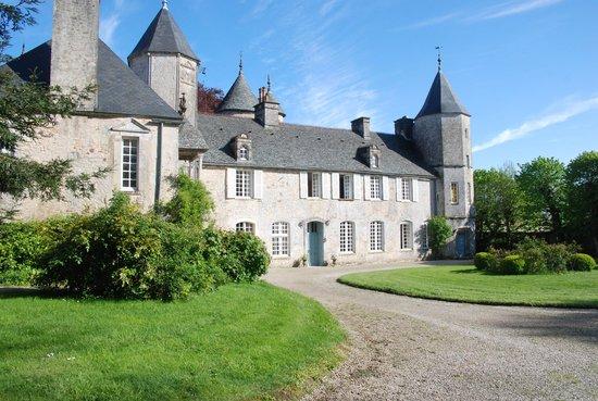 Chateau de Flottemanville : LE CHATEAU