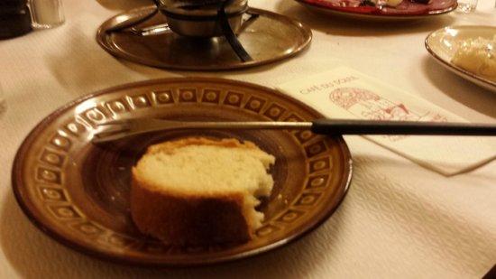 Cafe du Soleil: fondue