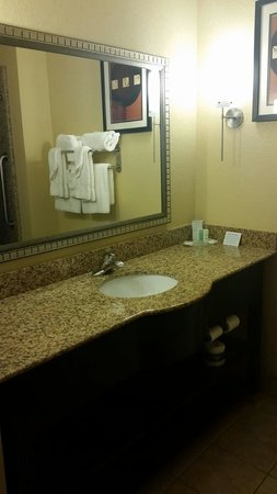 Comfort Suites: Nice bathroom