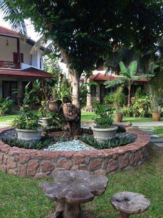 Le Duc de Praslin: jardin