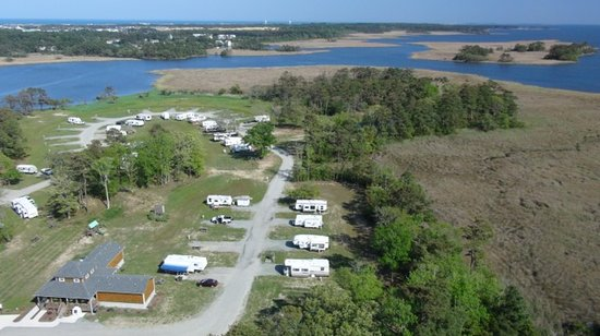 OBX Campground: right side of campground