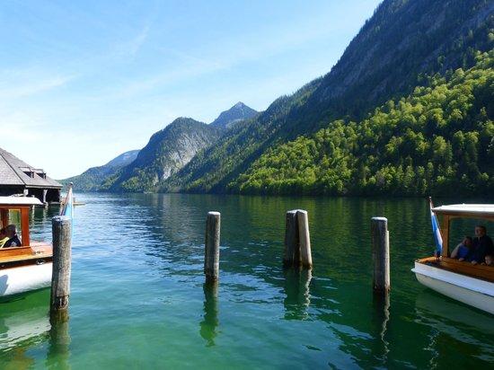 Königssee : Vom Bootsteg
