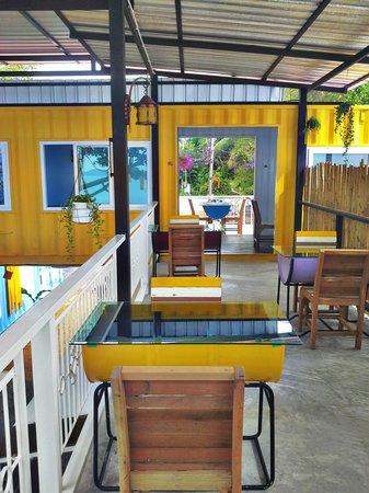 Think & Retro Cafe' Lipa Noi Samui: Top Floor seats