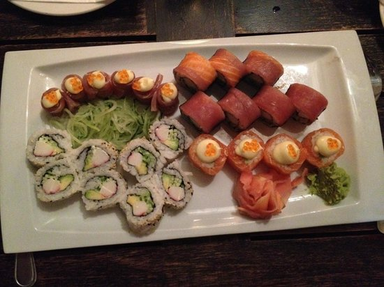 The Harbour Rock: More sushi