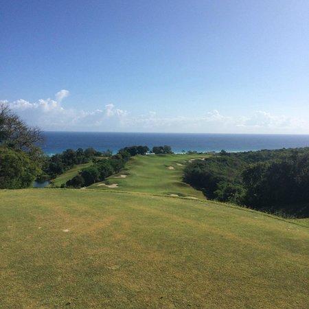 White Witch Golf Club: 1st hole, par5, got an eagle:-)