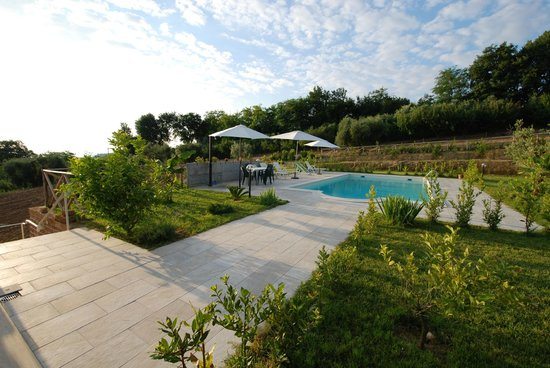 B&B Il Giardino Mediterraneo: ingresso piscina