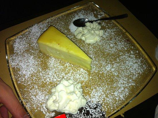 London Pub: Lime cheesecake