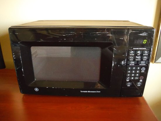Holiday Inn Tampa Westshore: Beat Up Microwave