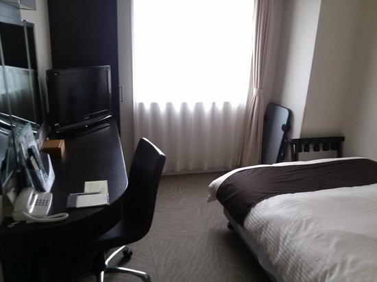 Hotel Route Inn Tomakomai Ekimae: シングルルーム