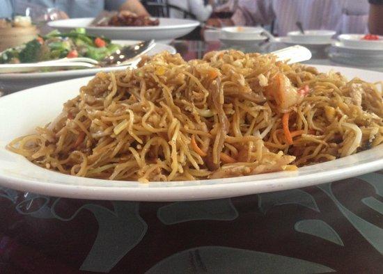 Bai Yun Restaurant at Banyan Tree Bangkok Hotel : Mee
