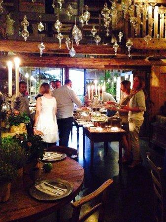 Locanda Rosa Rosae: Sala buffet