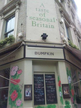 Bumpkin Restaurant Notting Hill