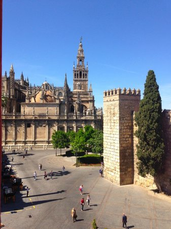 Suites Murillo: Vista dalla terrazza sulla Cattedrale - View
