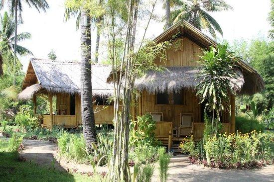 Rinjani Beach eco resort : Bungalows