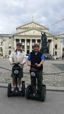 City Segway Tours Munich: Brian and Ed in Munich