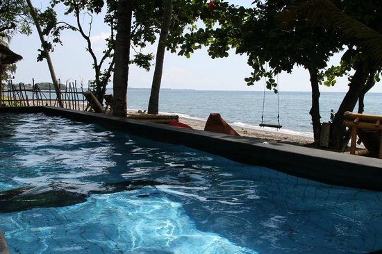 Rinjani Beach eco resort : Piscine
