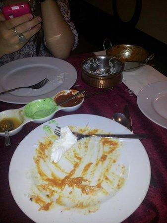 Swagatam Bar-Restaurant Hindu: Lo que quedó. .