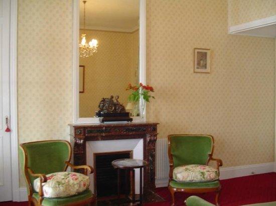 Hotel Villa Reine Hortense: le coin salon