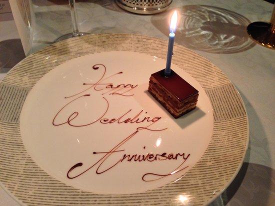 Waterside Inn : Wedding anniversary celebration