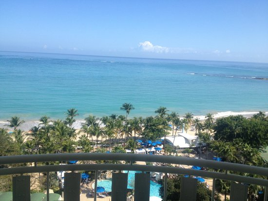 InterContinental San Juan: View from our room on the 15th floor