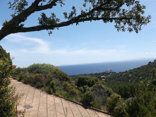 Casa Marta : Vue sur mer