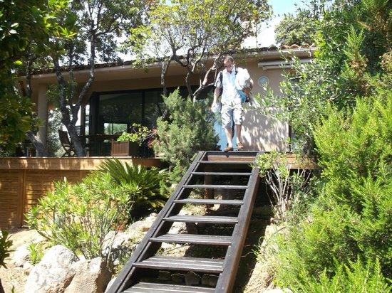 Casa Marta : Salle et terrasse du petit déjeuner