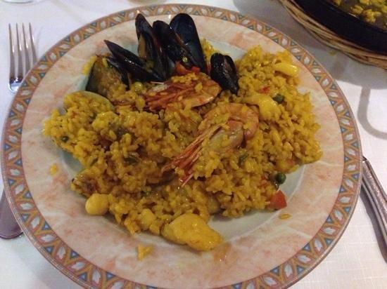 Zodiaco: paella fruit de mer