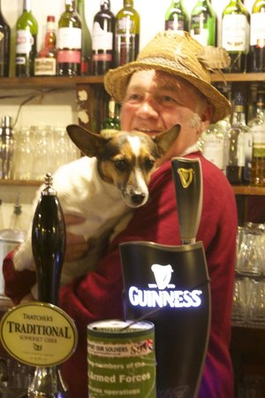 The Anchor Tintern: Dog friendly!