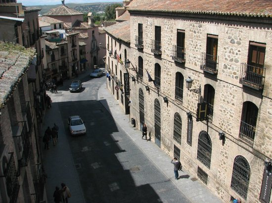Hotel Abad Toledo: View from the room