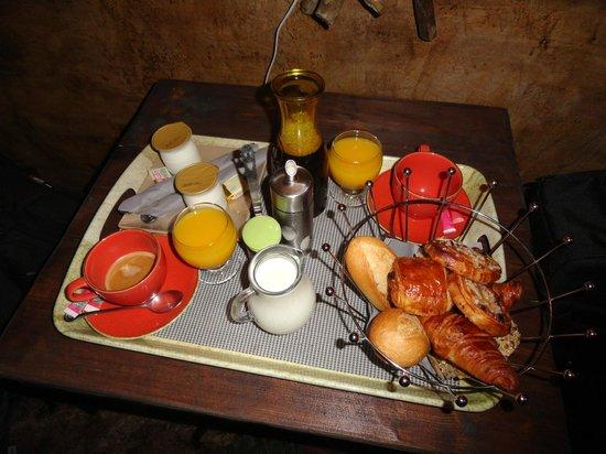 B&B Villa Praesidio : le petit-déjeuner