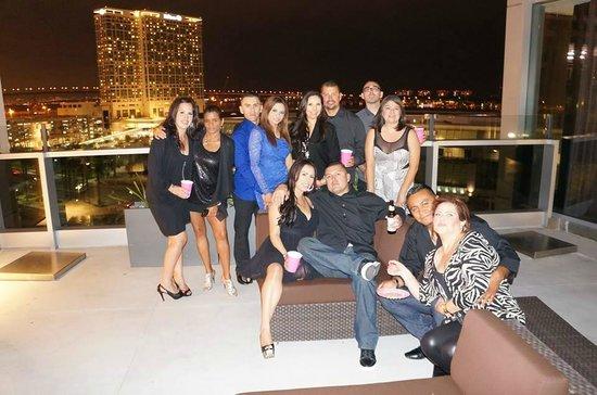 Hard Rock Hotel San Diego: birthday celebration