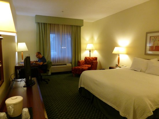 Fairfield Inn Huntsville : room 100