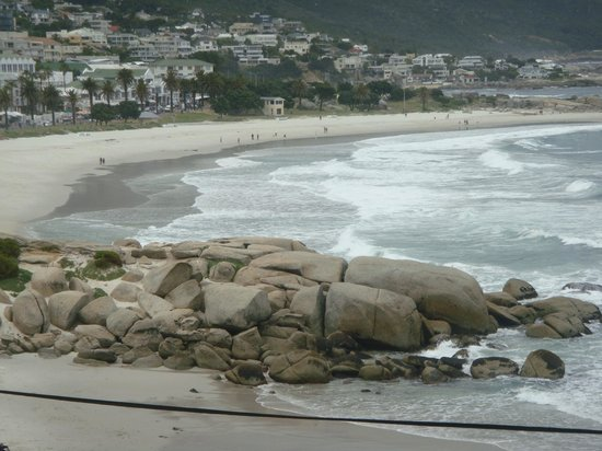 Camp's Bay Beach: From the boulders