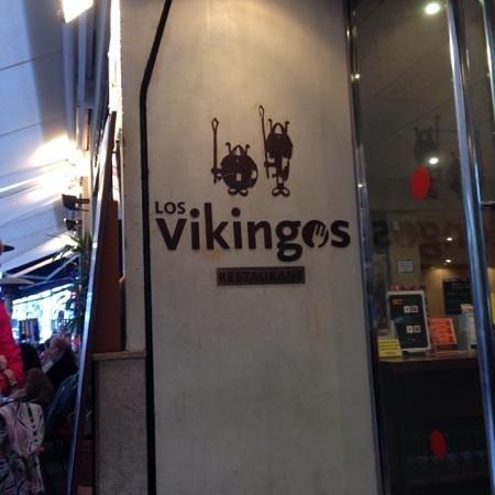 Los Vikingos: terrasse