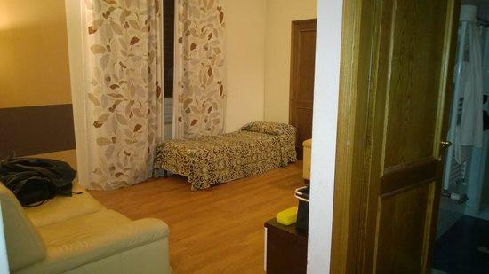 Hotel Medici: Das Wohnzimmer