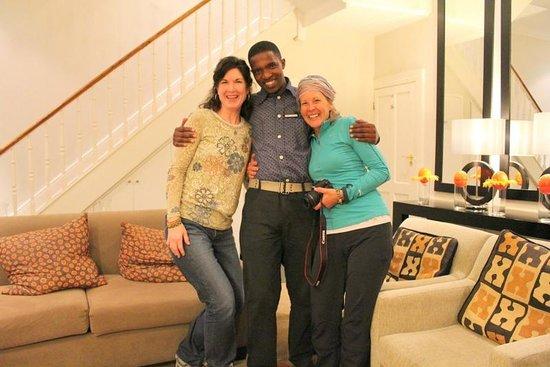 An African Villa: Night porter Sandiso who kept the Villa quiet at night
