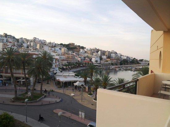Itanos Hotel : Vue du balcon