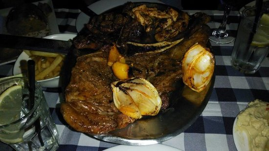 El Rancho : Mixed grill