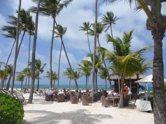 Secrets Royal Beach Punta Cana: Middagsmad i palmernes skygge