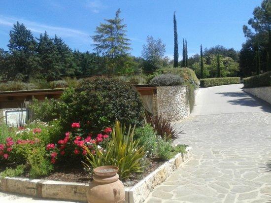 San Giovanni Terme Rapolano: ingresso hotel