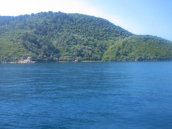 TUI BLUE Marmaris: View from taxi boat to Icmeler