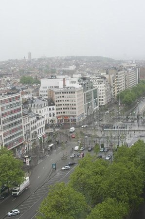 The Hotel - Brussels: Amazing view of the city.