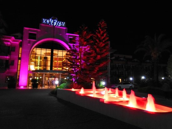 Grand Hotel Artside: entrée le soir