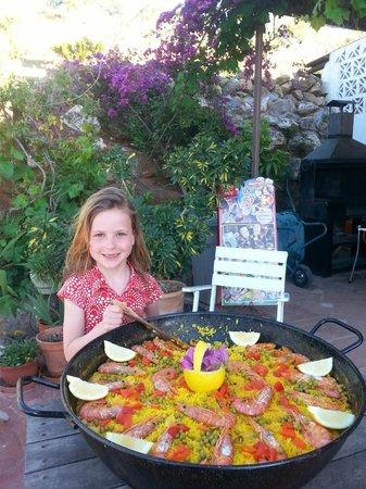 Casas Rurales La Molineta: In Spanje eet je paella!