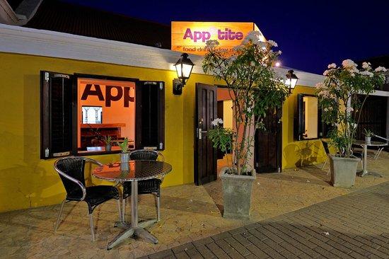 Appetite: restaurant front