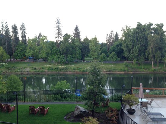 The Lodge at Riverside: View from room 205
