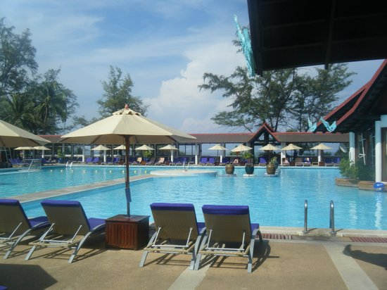 Club Med Phuket : La piscine principale