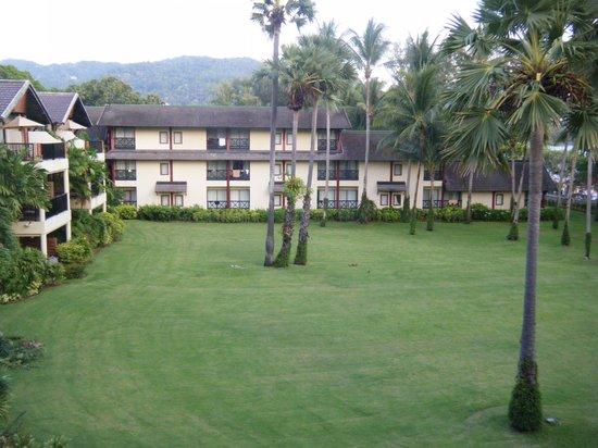 Club Med Phuket : Vue de la chambre sur jardin