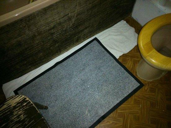 Pavilion Hotel: Shared Bathroom